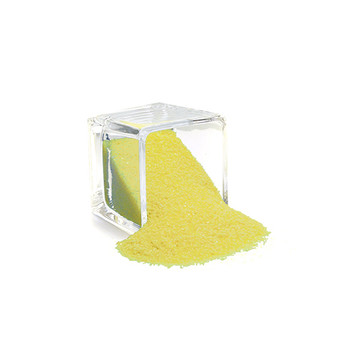 SAND02YL Decorative Colored Sand - Medium Grain, Yellow (14 oz Bag)