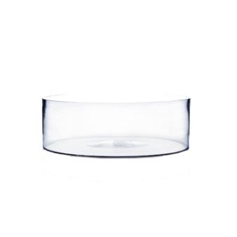 "VCY1004 Clear Cylinder Glass Vase - 10"" x 4"" (8 pcs)"