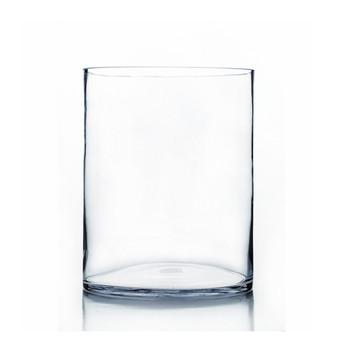 "VCY1016 Clear Cylinder Glass Vase - 10"" x 16"" (2 pcs/case)"