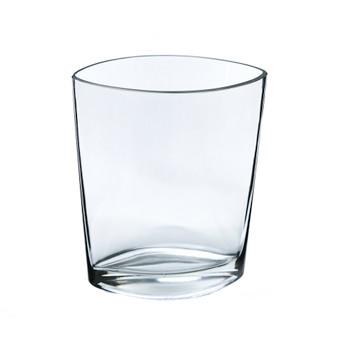"""VEV6008 Oval Eye Glass Vase - 7.5"""" (12 pcs)"""