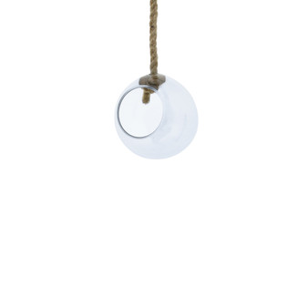 "VRV0106 - Rope Hanging Glass Globe - 6"" (12 pcs)"