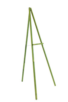 "EASEL72GW - Wooden Floral Easel, Green Stained Wood - 72"" (1 Pc)"