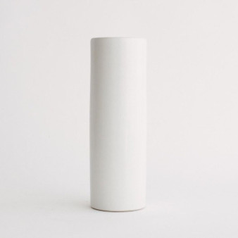"CYL0512WT - White Cylinder Ceramic - 5"" x 12"" (12 pcs)"