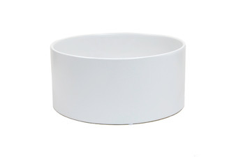 "CYL1105WT - White Cylinder Ceramic - 11"" x 5"" (4 pcs)"