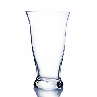 "VTC1612 - Tapered Unique Floral Glass Vase - 12"" (6 Pcs)"