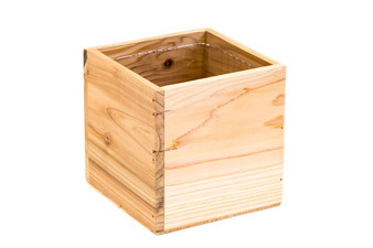 "WCB0004NA - Natural Wood Planter Box - 4"" (12 pcs)"