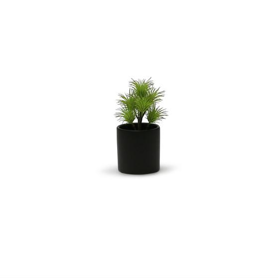 "CYL0004BK - Black Ceramic Cylinder - 4""  (24 pcs/case)"