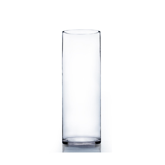 "VCY0616 Cylinder Glass Vase - 5.7""x16"" (6 pcs)"