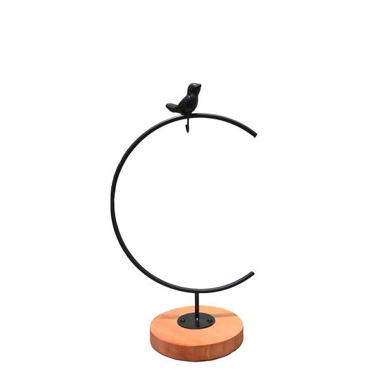 "META006 Small Decorative Bird Terrarium Stand - 10"" H (1 pc)"