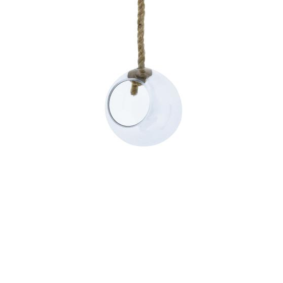 "VRV0106 - Rope Hanging Glass Globe - 6"" (12 pcs)"
