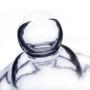 """Apothecary / Candy Buffet Jar - Pedestal Jar with Lid, 16"""" (6 pcs)"""