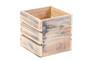 "WCB0005WC - White Washed Wine Crate Box - 5"" (12 pcs)"