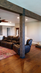 Basement Support Beams: DIY Before and After