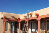 Get Southwest Style on a Budget with Faux Viga Tails and Wood Corbels
