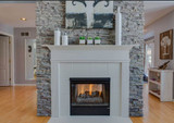 How to Give Your Fireplace Surround a Classic Look with Faux