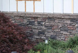 Using Panels for Stone Wainscoting