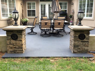 Imitation Stone Columns - Better Than the Real Thing!