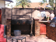 A New Outdoor Kitchen Amazes in Arizona