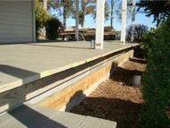 Porch Skirting for Antique Home Renovation