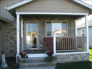 Fake Stone Exterior Siding Helps One Home Stand Out