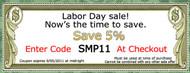 Labor Day Sale at FauxPanels.com