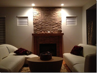 DIY with Synthetic Stone Panels with Great Results