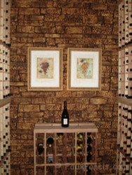 A Bouquet of Wine Cellar Design Ideas Using Stone Veneer
