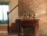 Build an Exciting Accent Wall with Old Chicago Brick Panels