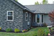 New Home Gets Traditional Look with Nailon Stone Siding