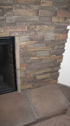 Gorgeous New Fireplace Facade