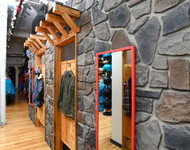 Snowboard Store Gets a Faux Panel Makeover