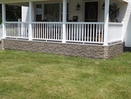 The Look of Stone for a Front Porch