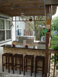 DIY Outdoor Bar Project: Get Ready to Entertain!