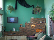 Create Stunning Wall Accents with Dry Stack Stone