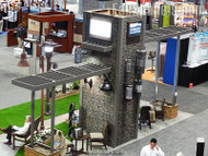 Attract a Crowd with Lightweight Stone Veneer: Gorgeous Trade Show Booth Designs