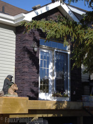 8 Exterior Remodeling Projects with Fake Stone