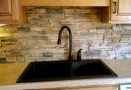 How To Clean a Faux Stone Kitchen or Bathroom Backsplash