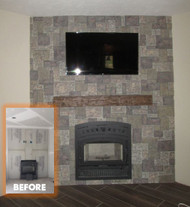 Refacing a Fireplace That's Up to Code
