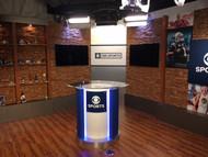 CBS Sports Scores a New TV Studio Background