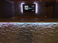 Illuminating! Basement Bar Idea with LED Lighting
