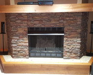 Easy Fireplace Makeover: Before and After