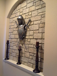 Medieval Style Accent Wall Designs