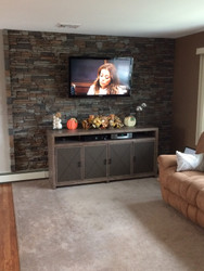 Lovely Living Room Accent Wall