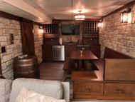 Basement Transformation: French-Style Underground Tavern