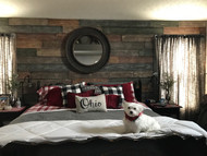 DIY Wood Accent Wall in the Bedroom