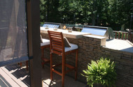 Take the Weight Off: Building a Grill Island on an Elevated Deck
