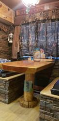 RV Interior Design Upgrade with Rustic Stone Style