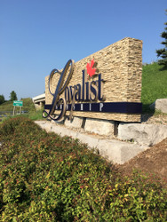 A New Welcome to Town Sign for Loyalist Township