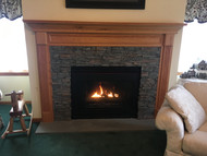 Refinishing a Brick Fireplace Surround