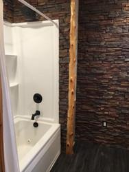 Rustic Bathroom Remodel with Regency Panels